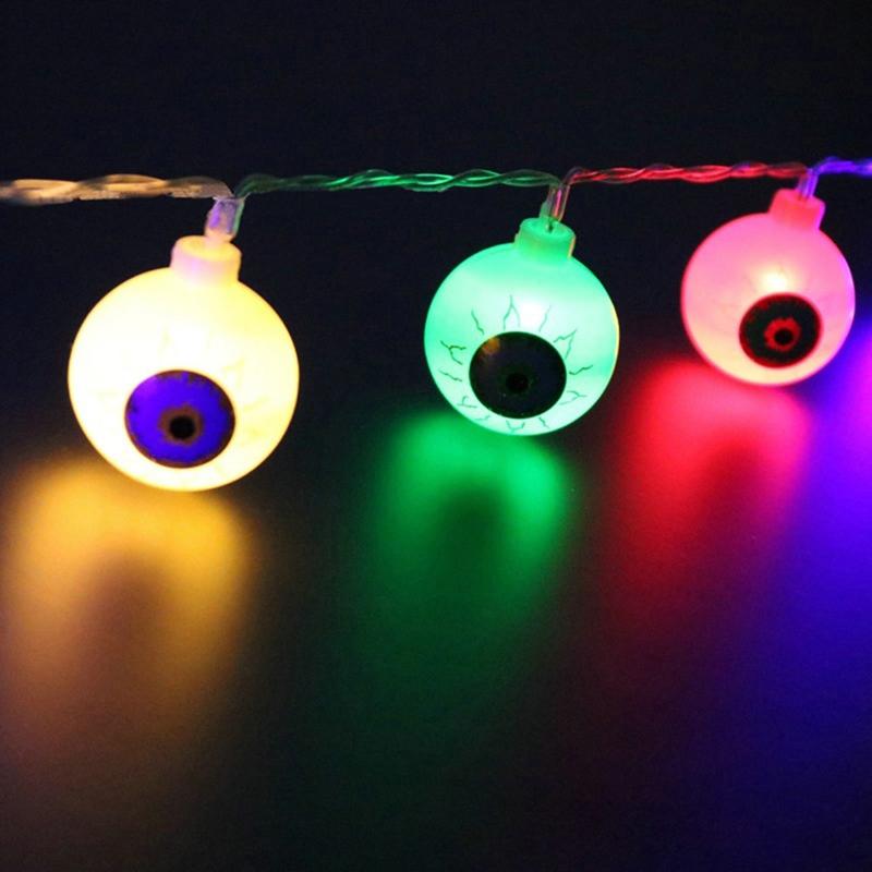 1pcs-Halloween-Solar-energy-Decoration-String-Lights-20-LED-Eyes-Lights-Fai-D8A4 thumbnail 7