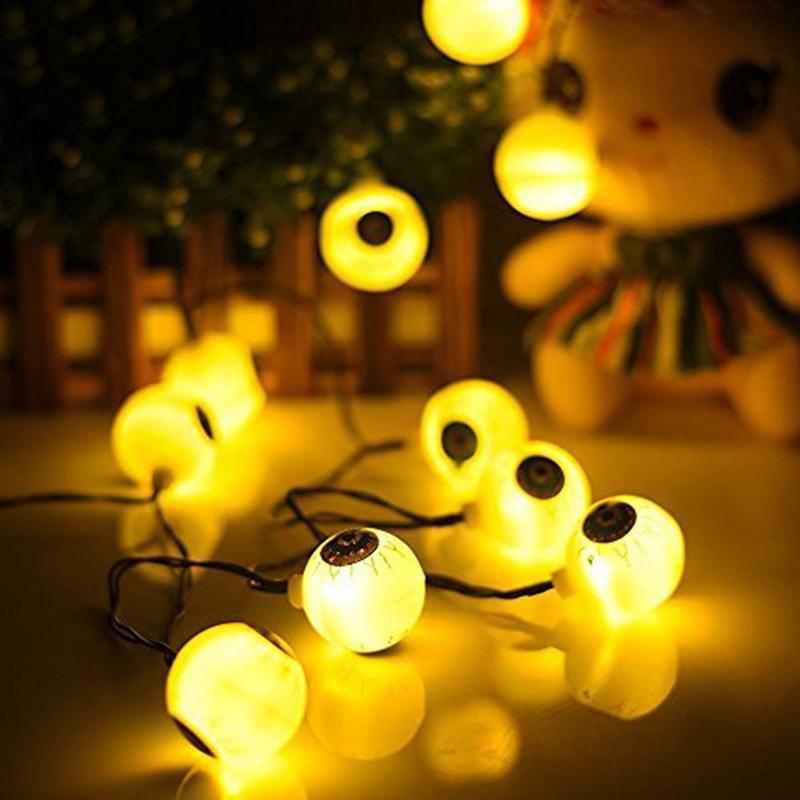 1pcs-Halloween-Solar-energy-Decoration-String-Lights-30-LED-Eyes-Lights-Fai-Q2X5 thumbnail 20