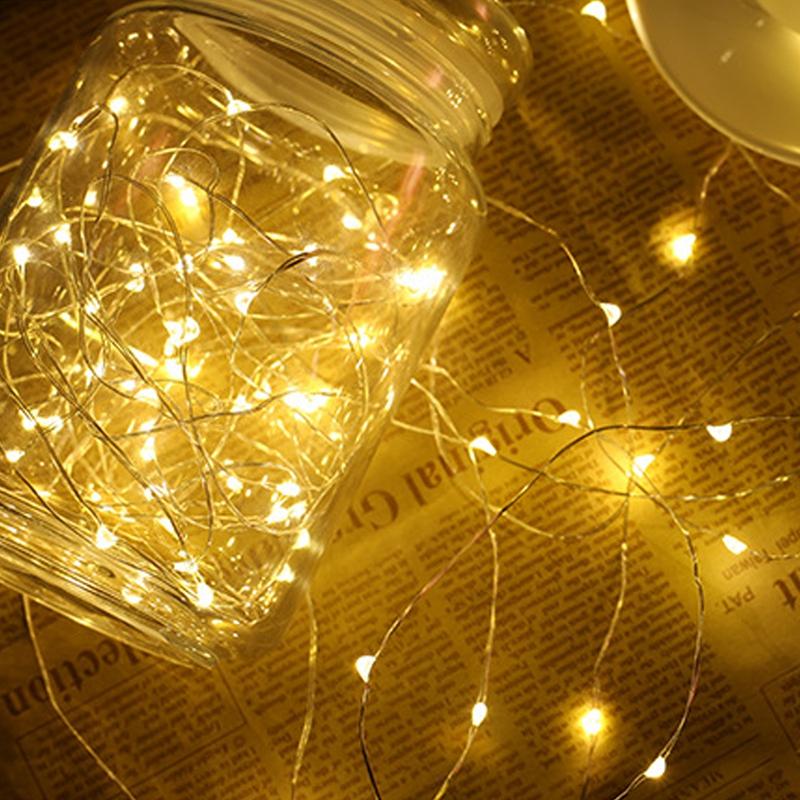 Guirlandes-Solaires-Guirlandes-ExteRieures-10M-100LED-Guirlandes-DeCoratives-e miniature 11