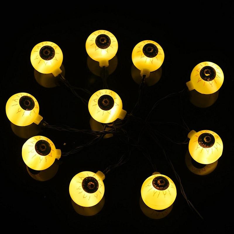 1pcs-Halloween-Decoration-String-Lights-40-LED-Eyes-Lights-Fairy-String-Lig-X8H2 thumbnail 8