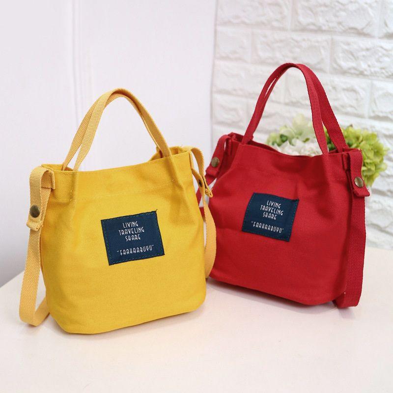158ab4de8 1X(Bolso de lona de mujer de moda Monedero bolso bolsa de hombro ...
