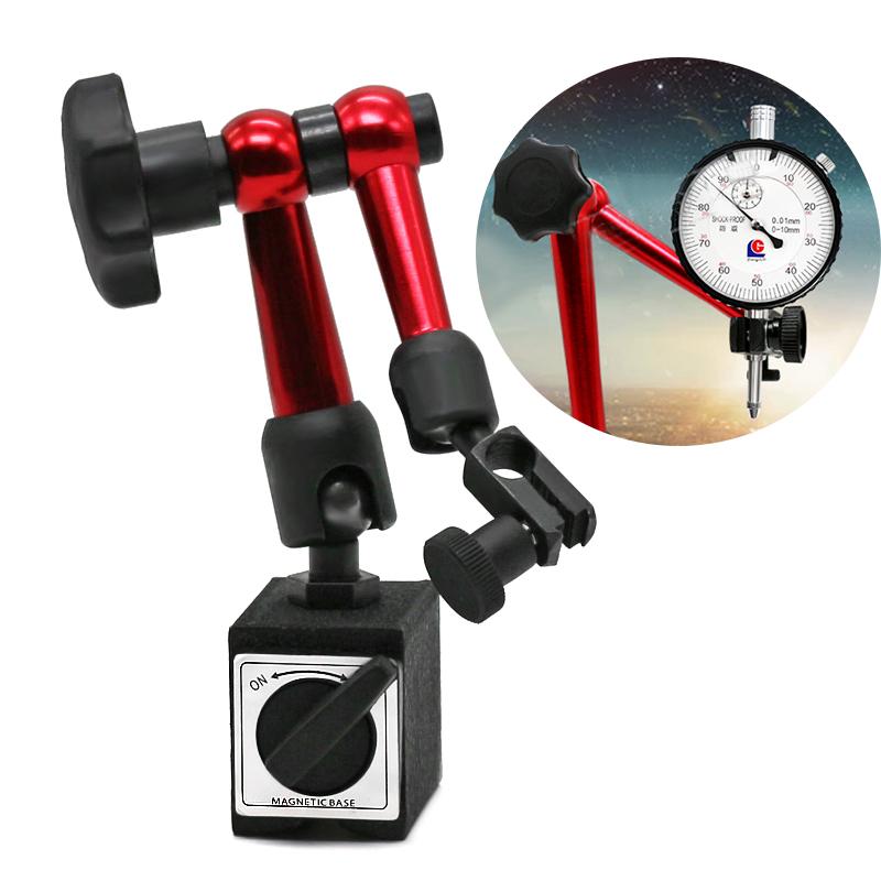 Ajustable-Magnetico-Soporte-de-Medidor-Sostenedor-de-bade-Indicador-de-prueba-ST