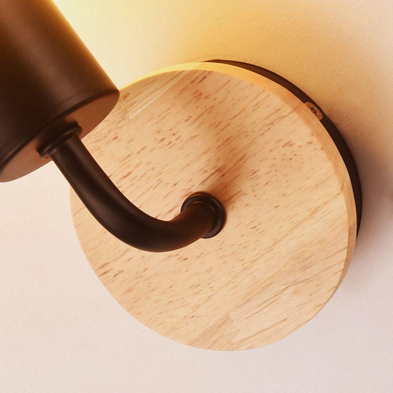 Petite-lampe-murale-en-bois-Lampe-Murale-Moderne-Simple-Lampe-Industrielle-e-7G8 miniature 8
