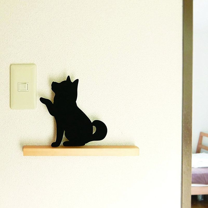 Forma-de-perro-pequeno-luz-controlada-por-sonido-luz-de-noche-de-bateria-LE-G6U2