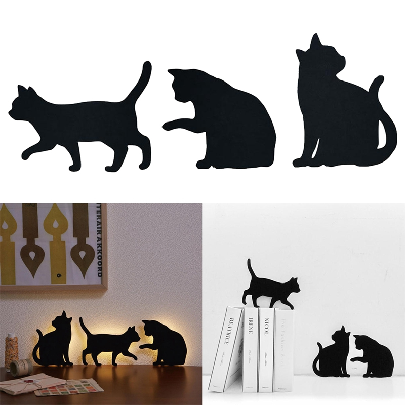 cat shape sound control light control led battery