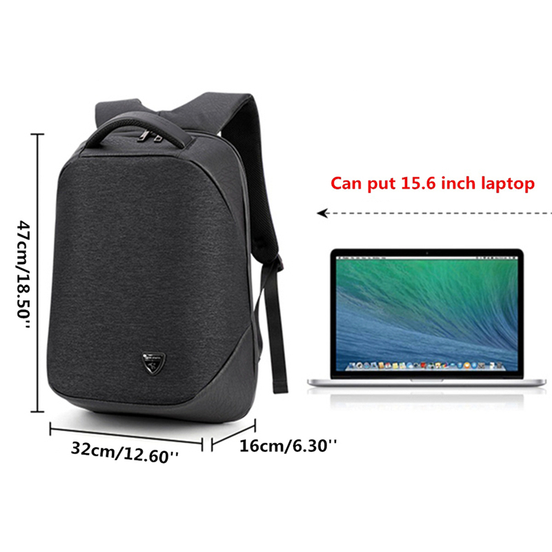 843ac6cabd multifunctional USB charging anti-theft bag business backpack male ...