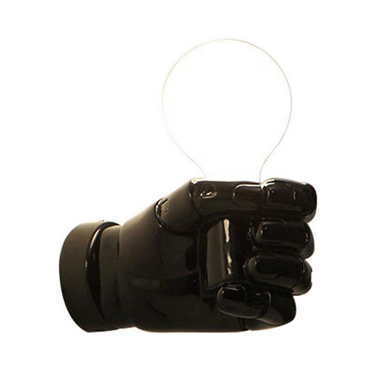 negro-lampara-de-pared-de-resina-de-puno-creativo-vintage-lampara-luz-indust-9Z2 miniatura 4