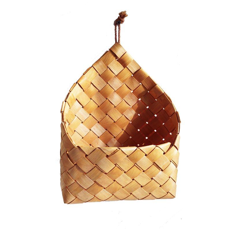handgewebter korb aus holz mit obst und gemuese ablagekorb a9n6 ebay. Black Bedroom Furniture Sets. Home Design Ideas
