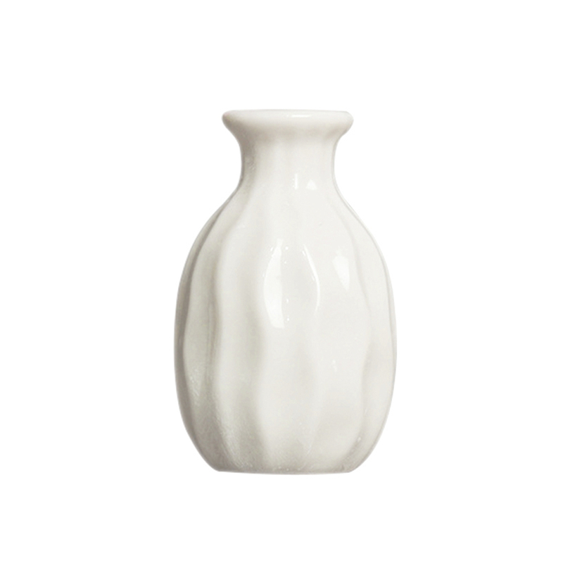 1X-Style-de-vague-Vase-en-ceramique-Decoration-de-bureau-a-la-maison-creati-Q9S7 miniature 4