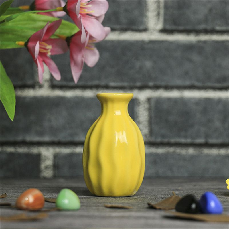 1X-Style-de-vague-Vase-en-ceramique-Decoration-de-bureau-a-la-maison-creati-Q9S7 miniature 8