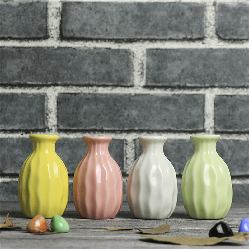 1X-Style-de-vague-Vase-en-ceramique-Decoration-de-bureau-a-la-maison-creati-Q9S7 miniature 10