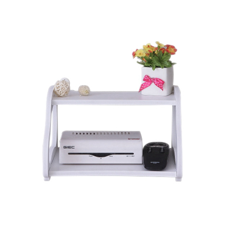 1X-Creative-garden-TV-cabinet-double-set-top-box-shelf-router-storage-box-s-B0T8 thumbnail 4