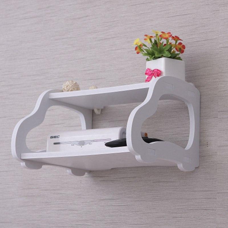1X-Creative-garden-TV-cabinet-double-set-top-box-shelf-router-storage-box-s-B0T8 thumbnail 7