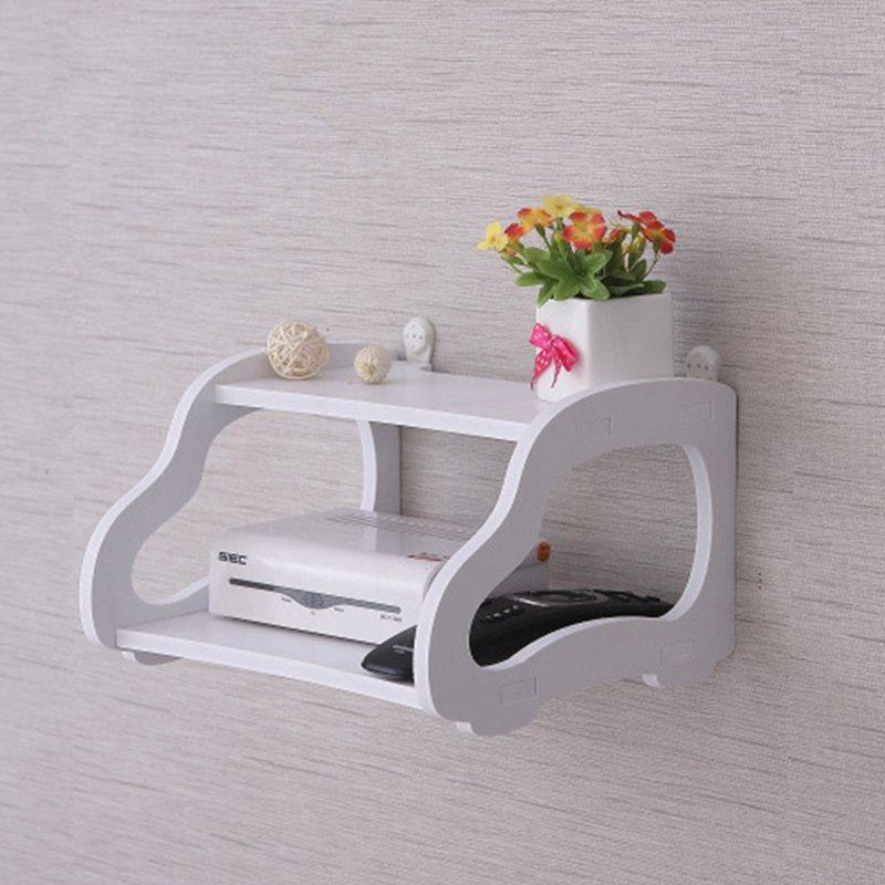 1X-Creative-garden-TV-cabinet-double-set-top-box-shelf-router-storage-box-s-B0T8 thumbnail 10