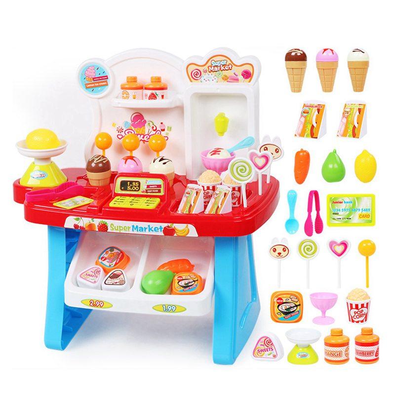 1-juego-Mini-supermercado-de-simulacion-multifuncion-para-ninos-cajero-hela-L5K6 miniatura 7