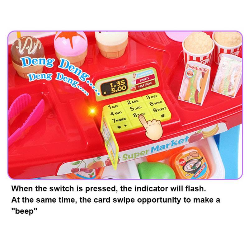 1-juego-Mini-supermercado-de-simulacion-multifuncion-para-ninos-cajero-hela-L5K6 miniatura 8
