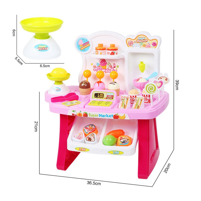 1-juego-Mini-supermercado-de-simulacion-multifuncion-para-ninos-cajero-hela-L5K6 miniatura 13