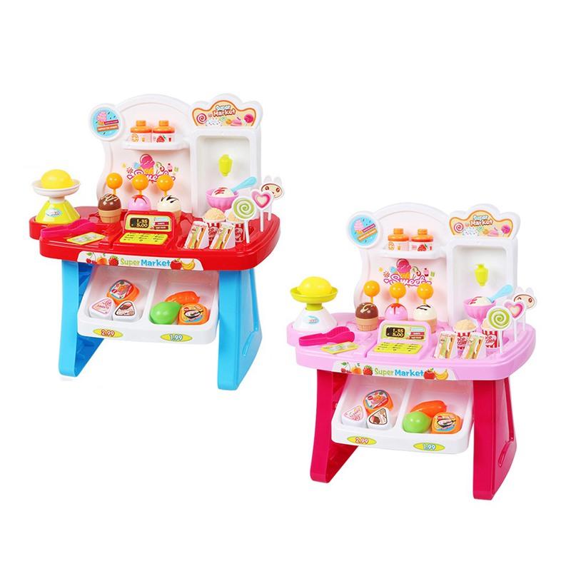 1-juego-Mini-supermercado-de-simulacion-multifuncion-para-ninos-cajero-hela-L5K6 miniatura 15