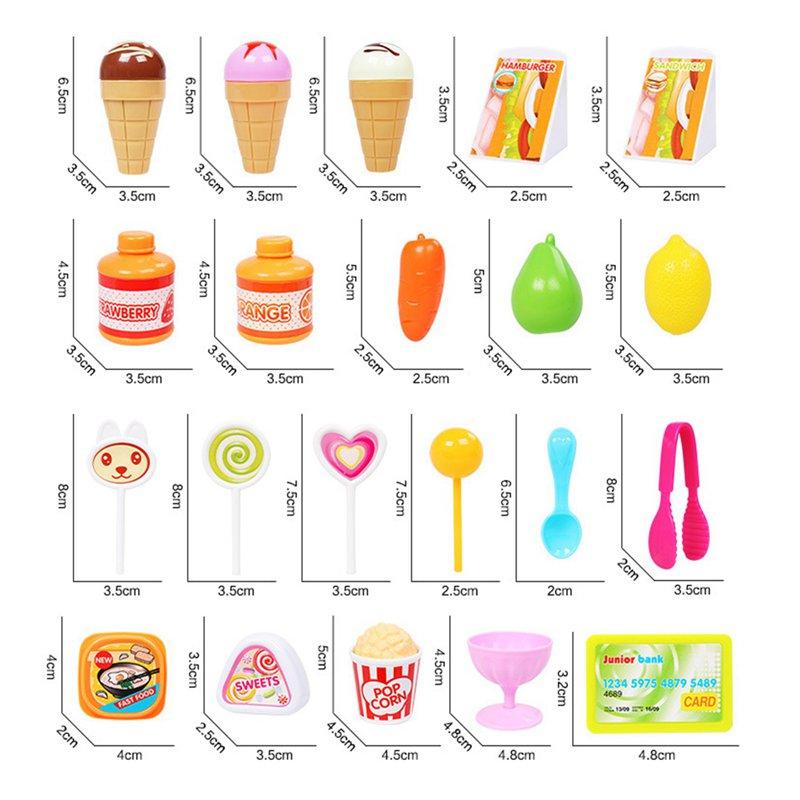 1-juego-Mini-supermercado-de-simulacion-multifuncion-para-ninos-cajero-hela-L5K6 miniatura 16