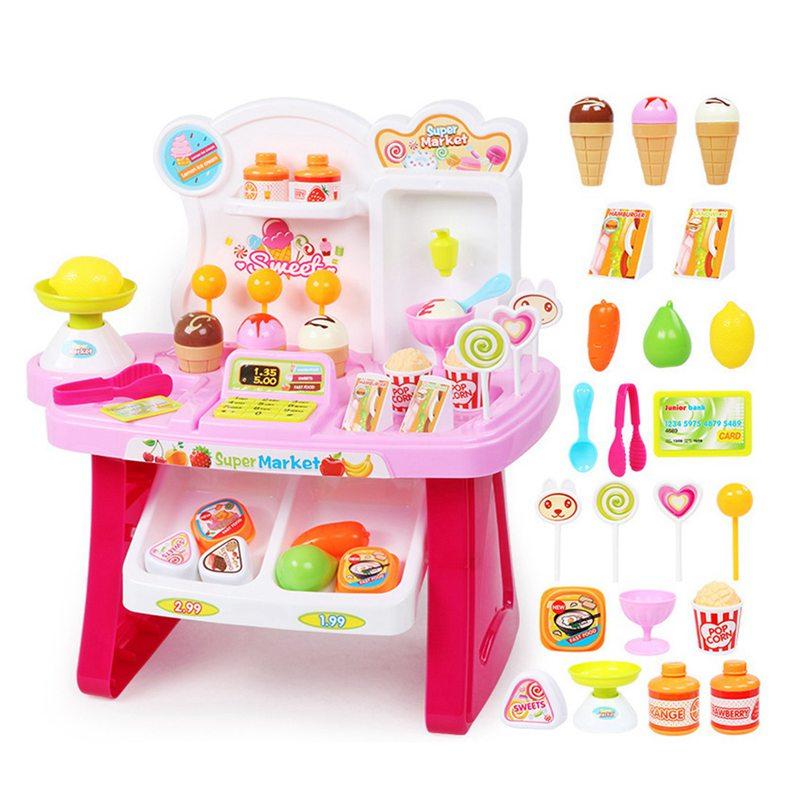 1-juego-Mini-supermercado-de-simulacion-multifuncion-para-ninos-cajero-hela-L5K6 miniatura 17