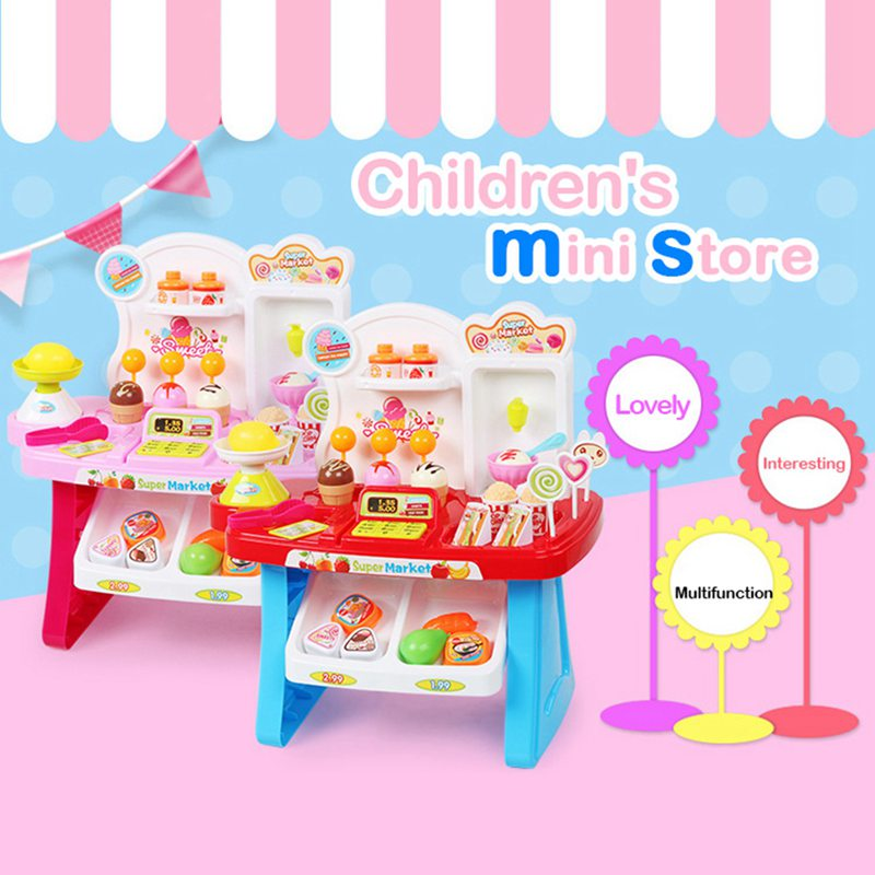 1-juego-Mini-supermercado-de-simulacion-multifuncion-para-ninos-cajero-hela-L5K6 miniatura 20