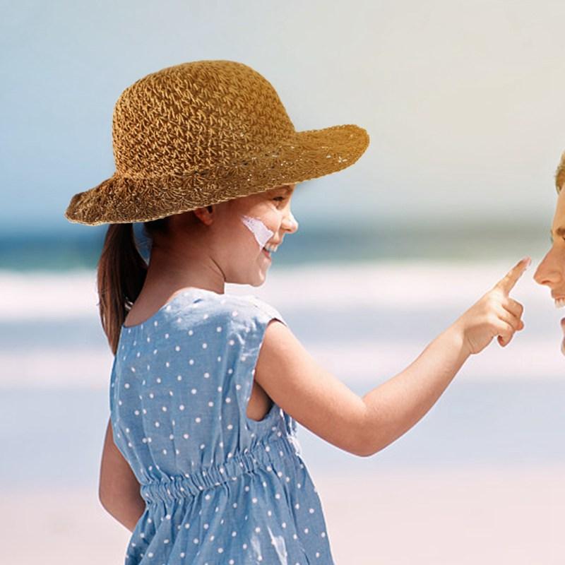 Nouveau-chapeau-visiere-plage-d-039-ananas-Panama-a-crochet-fait-main-pour-des-en-M4 miniature 7