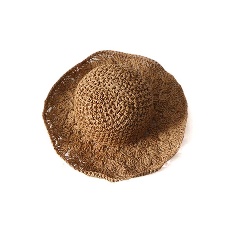 Nouveau-chapeau-visiere-plage-d-039-ananas-Panama-a-crochet-fait-main-pour-des-en-M4 miniature 8
