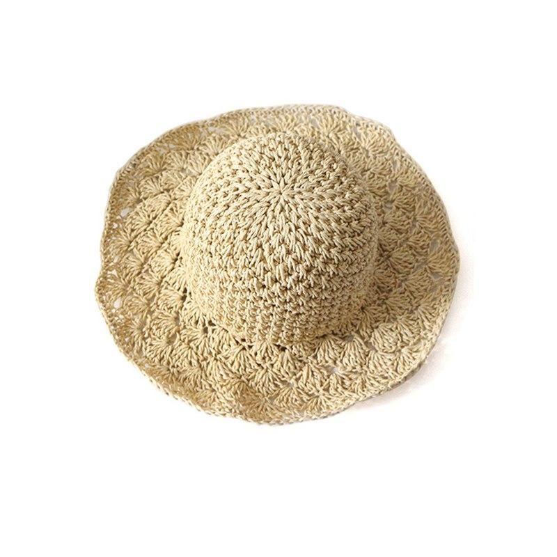 Nouveau-chapeau-visiere-plage-d-039-ananas-Panama-a-crochet-fait-main-pour-des-en-M4 miniature 16