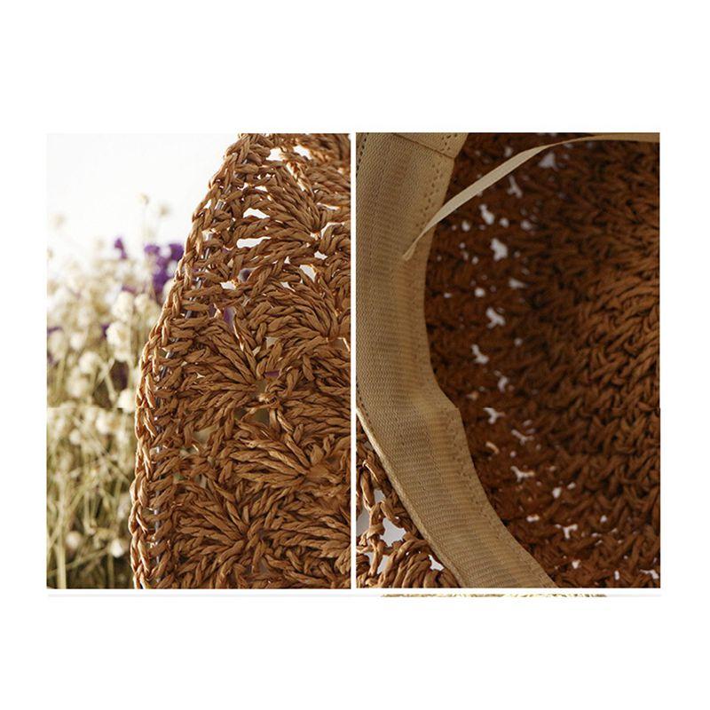 Nouveau-chapeau-visiere-plage-d-039-ananas-Panama-a-crochet-fait-main-pour-des-en-M4 miniature 18