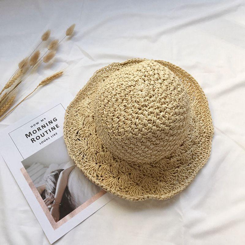 Nouveau-chapeau-visiere-plage-d-039-ananas-Panama-a-crochet-fait-main-pour-des-en-M4 miniature 20