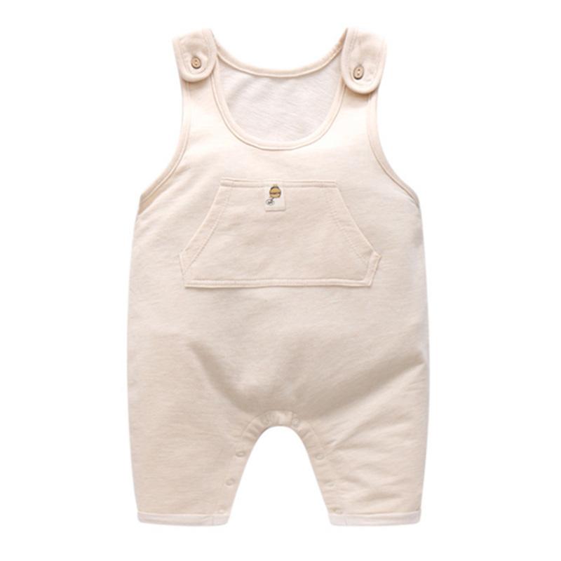 b72ce1b80 Fashion Baby Suspenders Romper Baby Boy Clothes Newborn Cotton Baby ...