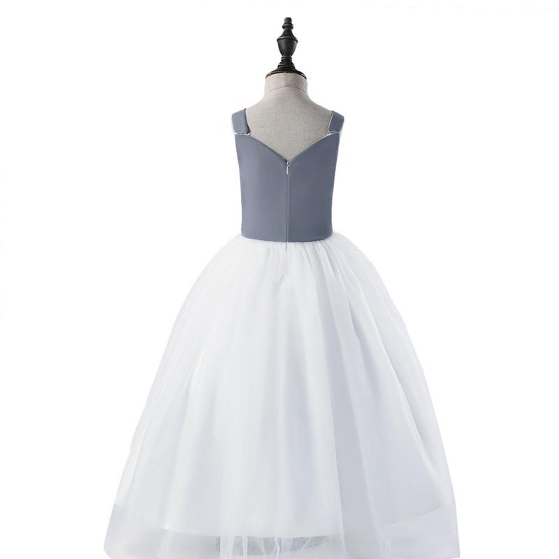32bbf79a3 2X(DMfgd Vestido de noche para ninos Vestido de nina de flor Vestido ...
