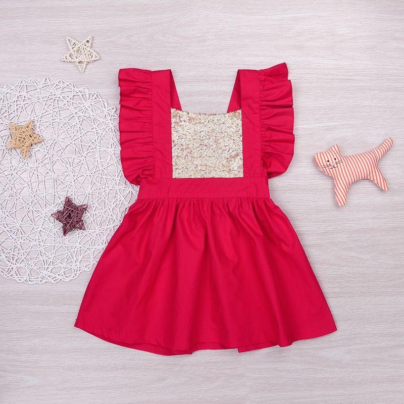 MIKRDOO SOMMER BABY Maedchen Kleid Marke Kinder Party Kleid Mit ...