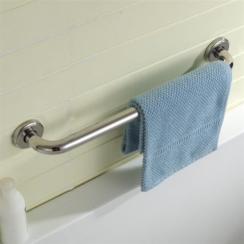 Nouvelle-salle-de-bains-baignoire-toilettes-rambarde-inox-Barre-d-039-appui-Douch-08 miniature 9