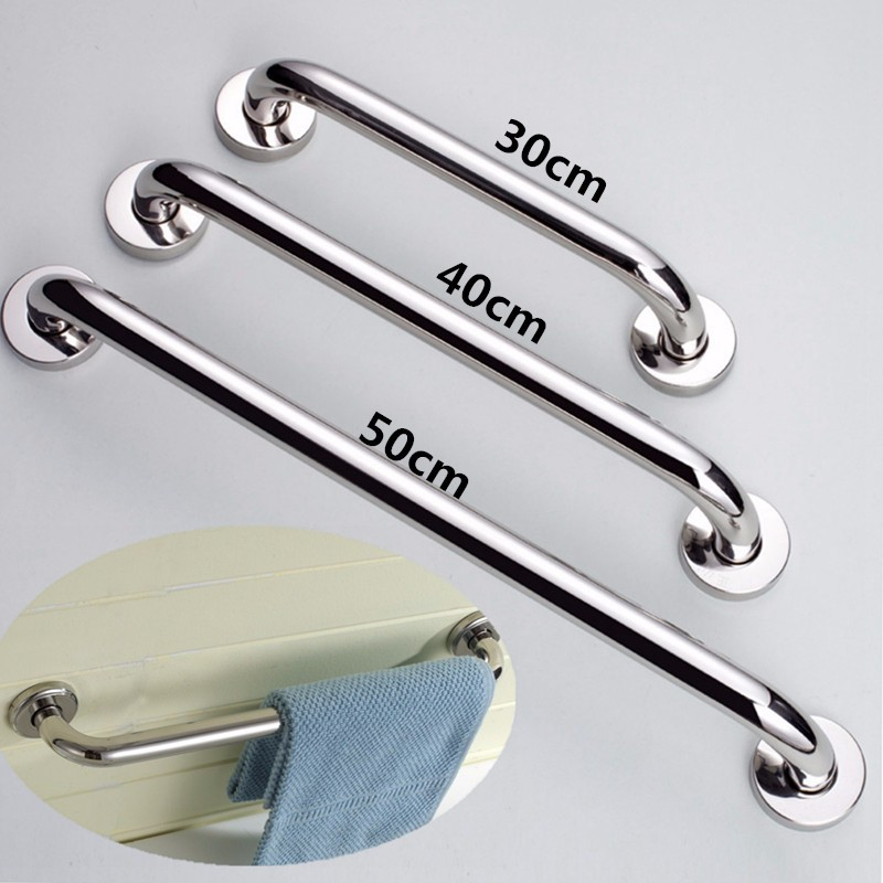 Nouvelle-salle-de-bains-baignoire-toilettes-rambarde-inox-Barre-d-039-appui-Douch-08 miniature 15