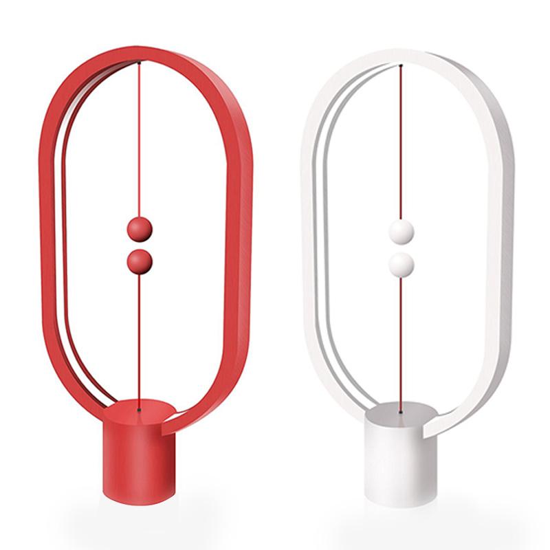 Balance Lampe-Ellipse Magnetschalter USB powered LED-Lampe,Warm Eye-Care LED- G4
