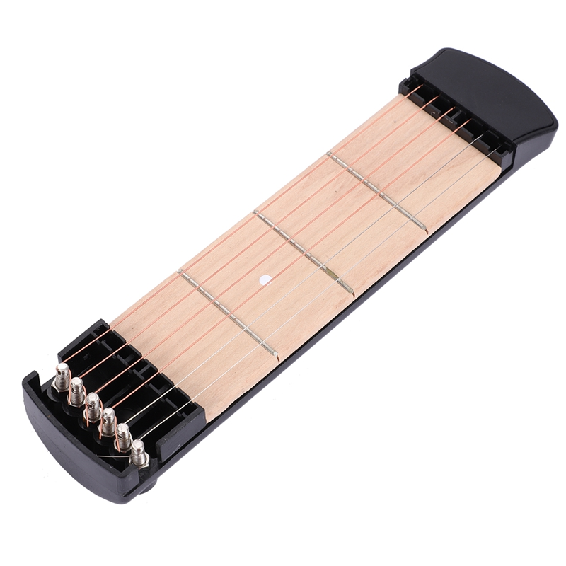 Portable Pocket Acoustic Guitar Practice Tool Gadget Chord Trainer 6 ...