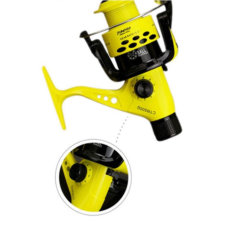 Yumoshi-12BB-MULINELLI-leggero-in-plastica-spinning-pesca-con-Mulinello-Posteriore-D-U5X4 miniatura 5