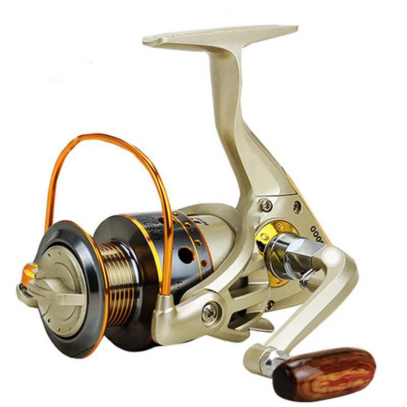 YUMOSHI-Carrete-de-pesca-de-hilado-Carrete-de-pesca-de-12-rodamiento-de-bol-D3E5 miniatura 3