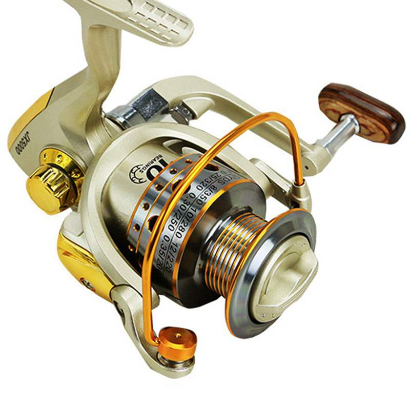 YUMOSHI-Carrete-de-pesca-de-hilado-Carrete-de-pesca-de-12-rodamiento-de-bol-D3E5 miniatura 4