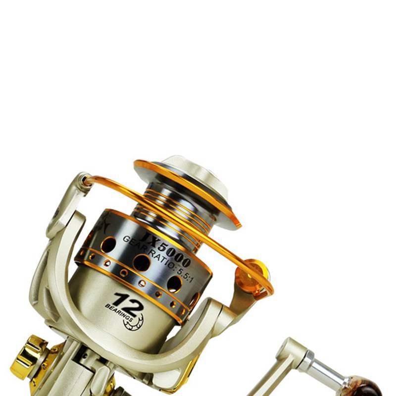 YUMOSHI-Carrete-de-pesca-de-hilado-Carrete-de-pesca-de-12-rodamiento-de-bol-D3E5 miniatura 5