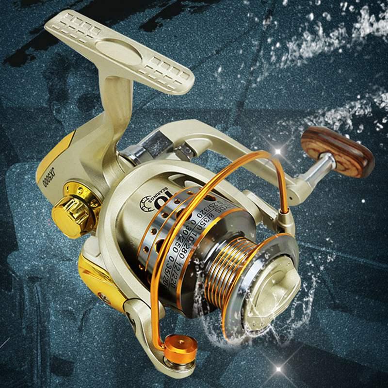 YUMOSHI-Carrete-de-pesca-de-hilado-Carrete-de-pesca-de-12-rodamiento-de-bol-D3E5 miniatura 6