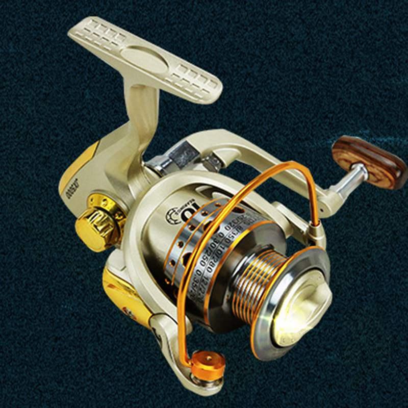 YUMOSHI-Carrete-de-pesca-de-hilado-Carrete-de-pesca-de-12-rodamiento-de-bol-D3E5 miniatura 7
