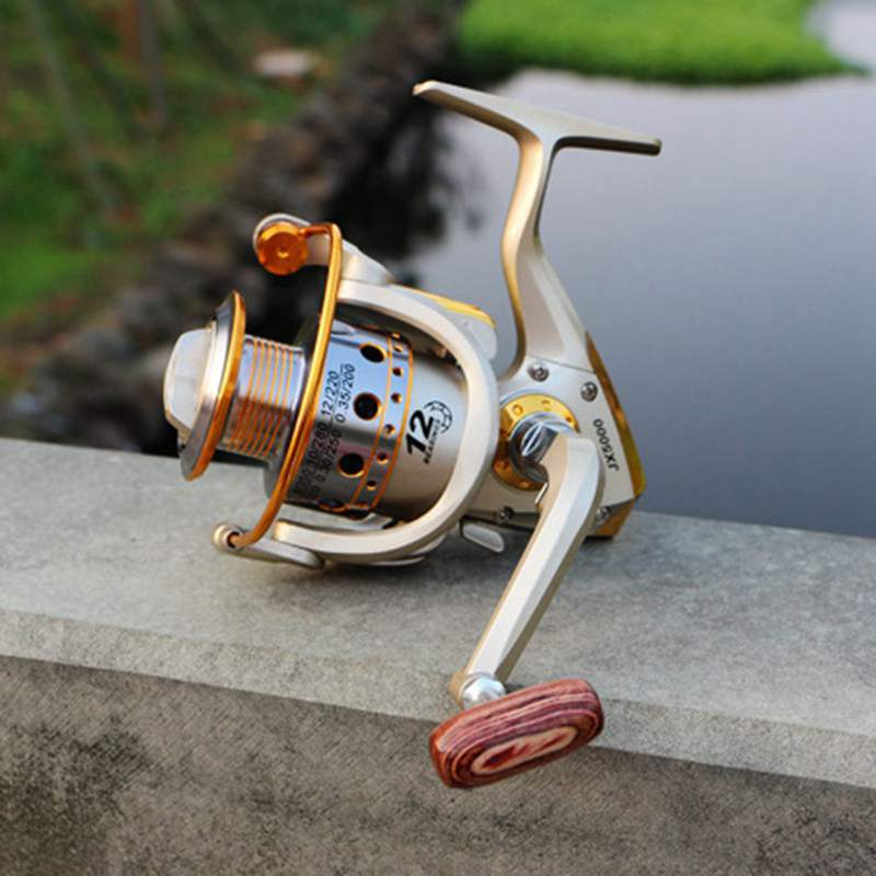 YUMOSHI-Carrete-de-pesca-de-hilado-Carrete-de-pesca-de-12-rodamiento-de-bol-D3E5 miniatura 8