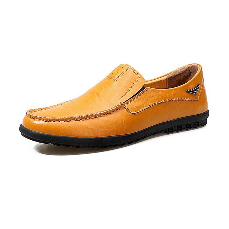 Conduite Veritable De 5x Flaneurs Decontractees Mode Cuir chaussures Homn1z8 ApwqTB