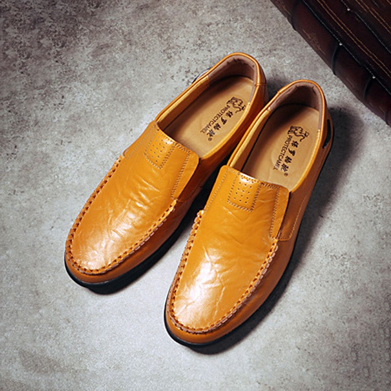 3X(Zapatos de conduccion ocasionales de la moda Mocasines B3T7) de cuero genuino B3T7) Mocasines 690dc7