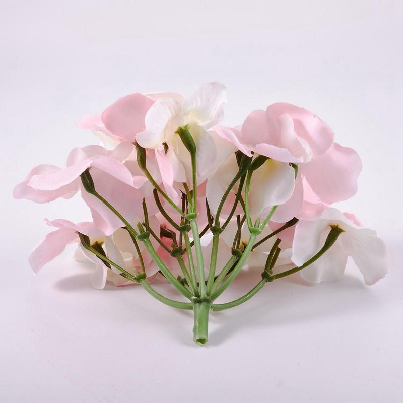 Seidenblume-Hochzeit-Dekoration-Kuenstliche-Blumen-Fruehling-Lebendige-Gros-C6W1 Indexbild 18