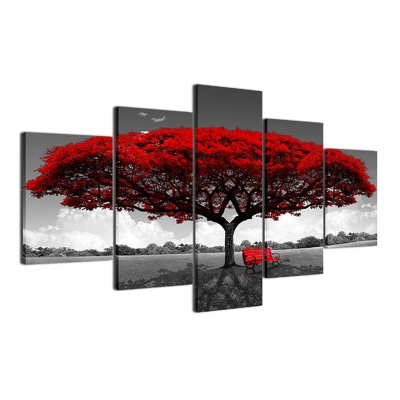 Decoracion-de-casa-poster-de-impresion-HD-de-lona-Imagenes-arte-de-pared-5-C2R7 miniatura 3