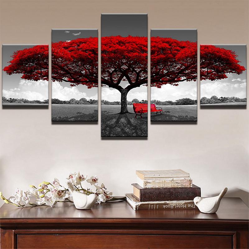 Decoracion-de-casa-poster-de-impresion-HD-de-lona-Imagenes-arte-de-pared-5-C2R7 miniatura 5