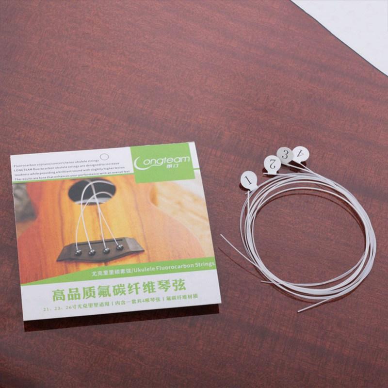 Longteam-Cuerdas-de-carbono-Ukulele-Cuerdas-de-fibra-de-fluorocarbono-para-F3F7 miniatura 8